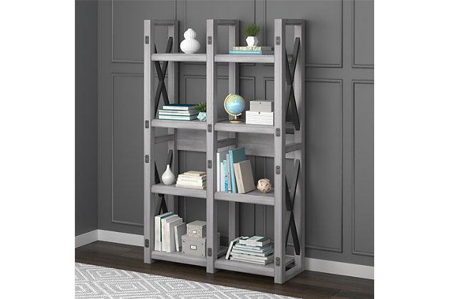 Eight Shelf Bookcase, , large