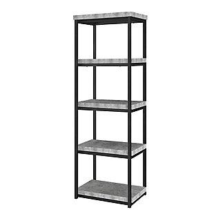 Four Shelf Bookcase, , rollover