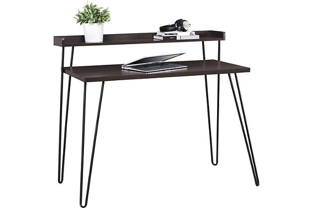 Retro Desk with Riser, , large