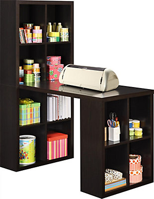 Storage Desk with Cubbies, , rollover