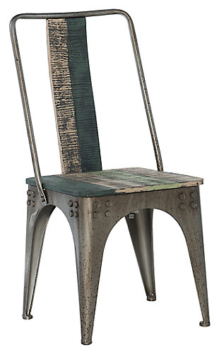 Weathered Side Chair, , large