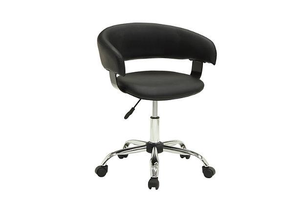 Swivel Gas Lift Desk Chair, , large