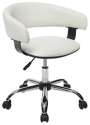 Swivel Gas Lift Desk Chair, , rollover