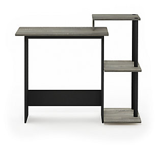Computer Home Office Desk with Side Storage, , large