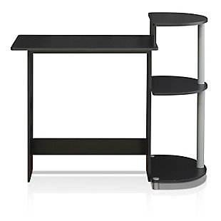 Compact Home Office Desk with Side Storage, , rollover
