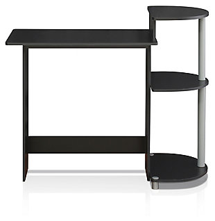 Compact Home Office Desk with Side Storage, , large