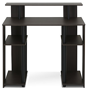 Writing Home Office Desk with Storage, , large