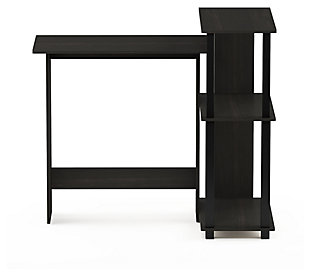 Computer Desk with Bookshelf, , large