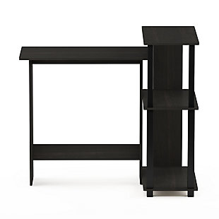 Computer Desk with Bookshelf, , rollover