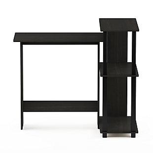 Computer Desk with Bookshelf, , large