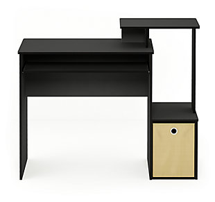 Multipurpose Home Office Desk with Bin, , large