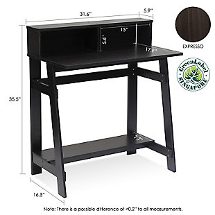 Multipurpose Home Office Desk with Hutch, , large