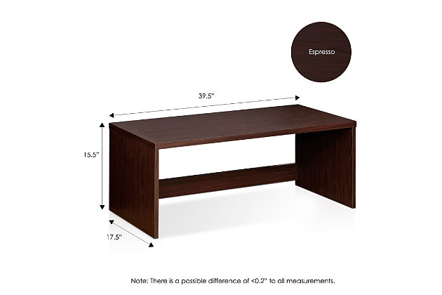 Low Rise Home Office Writing Desk, , large