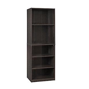 "Five Shelf 71"" Home Office Bookcase, , rollover"
