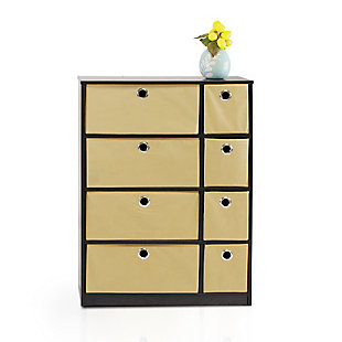 Storage Cabinet with Bin Drawers, , rollover