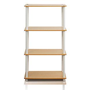Four Shelf Multipurpose Bookshelf, , rollover