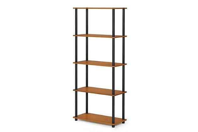 Five Shelf Multipurpose Bookshelf, , large