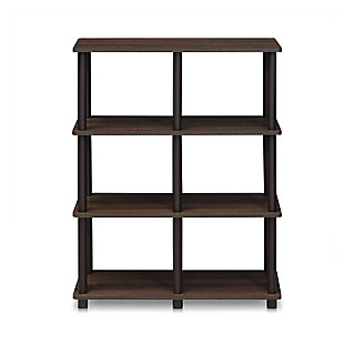 6 Shelf Home Office Bookcase, , large