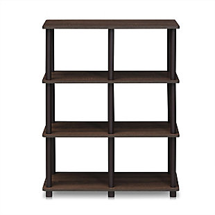 6 Shelf Home Office Bookcase, , rollover