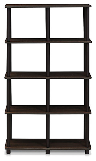 8 Shelf Home Office Bookcase, , large