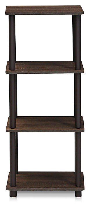 Three Shelf Home Office Bookcase, , large