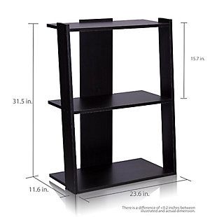 """Ladder 32"""" Home Office Bookcase, , large"""