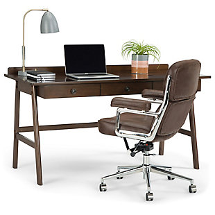Three Drawer Desk with USB, , large