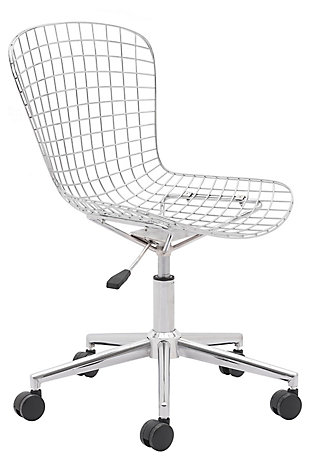 Zuo Modern Wire Office Chair, , large