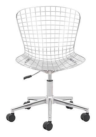 Zuo Modern Wire Office Chair, , rollover