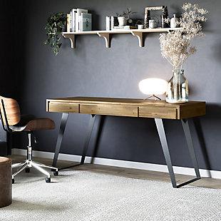 "Simpli Home Lowry Industrial 54"" Desk, , rollover"