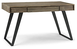 "Simpli Home Lowry Industrial 54"" Writing Desk, , large"