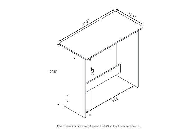 Simplistic Study Table, , large