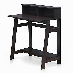 Simplistic A Frame Computer Desk, , large