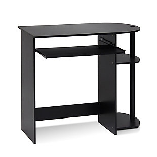 Simplistic Easy Assembly Computer Desk, , rollover
