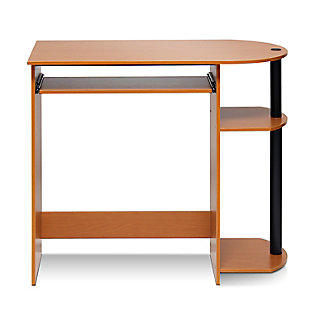 Simplistic Easy Assembly Computer Desk, , large