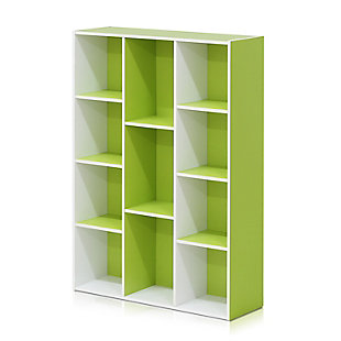 11-Cube Reversible Open Shelf Bookcase, , rollover