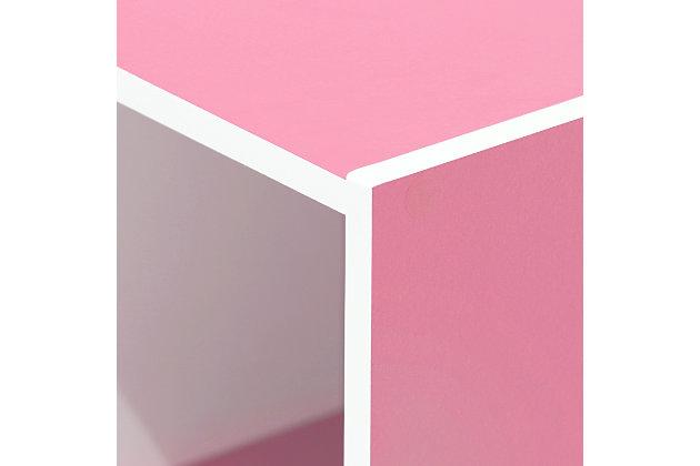11-Cube Reversible Open Shelf Bookcase, , large