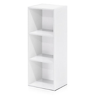 Pasir 3-Tier Open Shelf Bookcase, , rollover