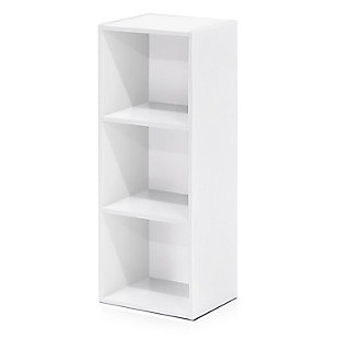 Pasir 3-Tier Open Shelf Bookcase, , large