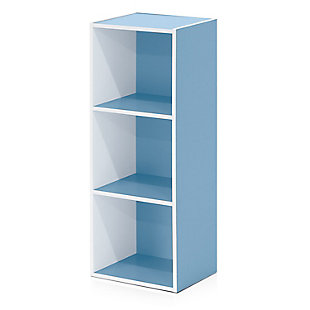 Pasir 3-Tier Open Shelf Bookcase, , large