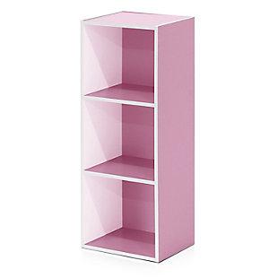 Pasir 3-Tier Open Shelf Bookcase, , rollover