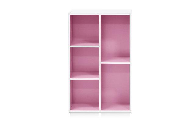 Luder 5-Cube Reversible Open Shelf, , large