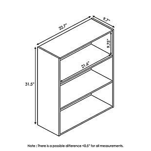Pasir 3-Tier Open Shelf, , large