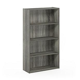 Pasir 4 Tier Open Shelf, , large