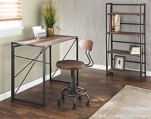 LumiSource Dakota Office Desk, , rollover