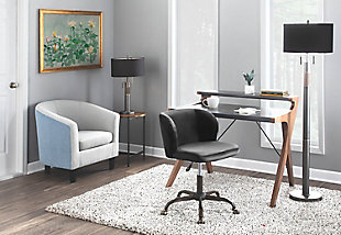 LumiSource Fran Task Chair, , rollover