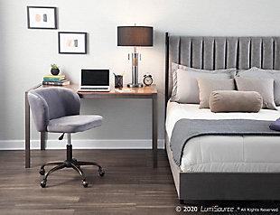 LumiSource Fran Task Chair, , large