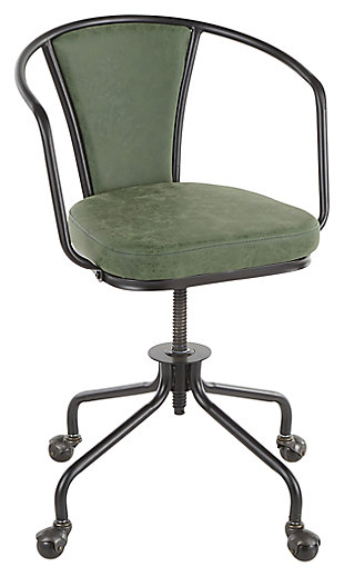 LumiSource Oregon Upholstered Task Chair, , large