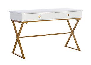 Linon Henrick Campaign Desk, , large
