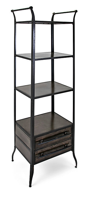 IMAX Oscar Metal Bookshelf, , large